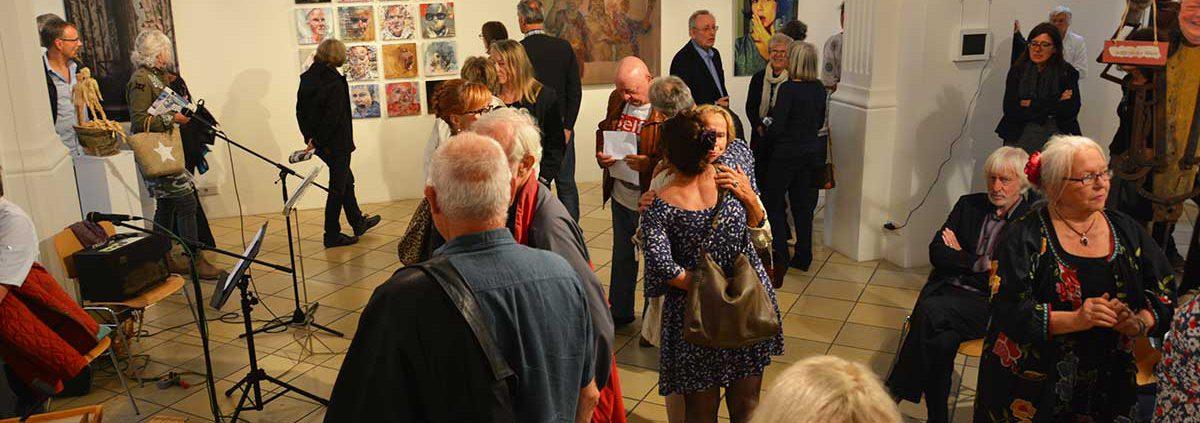 Vernissage Selfies Kunst Verein Erding 2016