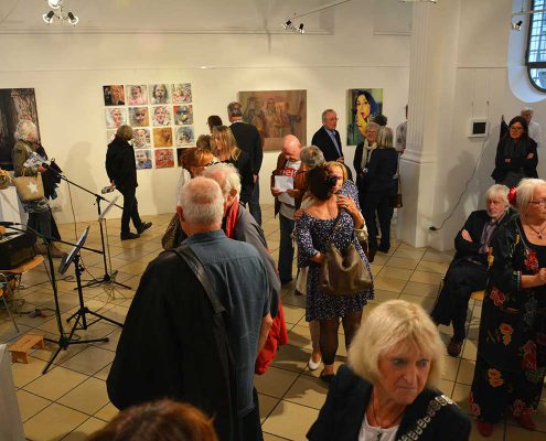Vernissage Selfies Kunst Verein Erding 2016